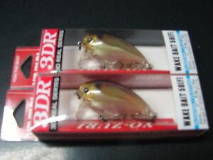 "2 Yo-Zuri 3DR Wake Bait 50 R1313-RGSN Real Golden Shiner 2"" 1/4 oz. 50mm"