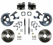 Rear Disc Brake Conversion Kit GM 10 12 Bolt non staggered shocks Zinc Plated