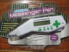 Scholastic Electronic Messenger Pen Clock Phone Book Calender