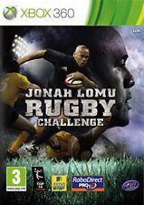 Jonah Lomu Rugby Challenge Microsoft Xbox 360 PAL Brand New