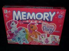 NEW MY LITTLE PONY 100% COMPLETE MEMORY CARD MATCHING GAME SEALED TOY GIFT