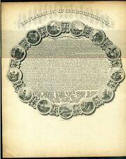 MAGNUS LETTERSHEET Declaration of Independence