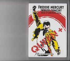 QUEEN + FREDDIE MERCURY TRIBUTE CONCERT 10TH ANNIVERSARY EDITION DVD BOOKLET