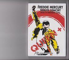 QUEEN + FREDDIE MERCURY TRIBUTE CONCERT 10TH ANNIVERSARY EDITION DVD BOOKLET