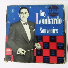 GUY LOMBARDO SOUVENIRS BOX US DECCA 9-223  4-45RPM Discs