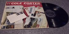 "Pete Terrace ""Cole Porter in Latin America"" TICO JAZZ LP #1063"