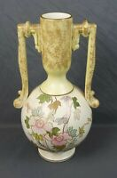 Antique 19th Century TF&S Thomas Forester 1883-1891 Veloutino Hand Painted Vase