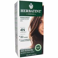 Herbatint Permanent Herbal HairColor Gel 4N Chestnut - 135 mL / 4.56 oz