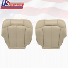 2000 2001 2002 GMC Yukon Driver & Passenger Bottom Vinyl Set Cover Light Tan 522