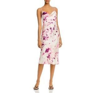 Bardot Womens Tie-Dye Adjustable Straps Mini Slip Dress BHFO 7961