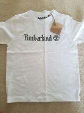 Timberland White Boys T Shirt AGE 6