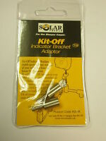 Solar Spare Stainless Kit Off Adaptors 2pk Carp fishing
