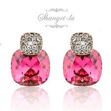 Swarovski Stud Rose Gold Filled Fashion Earrings