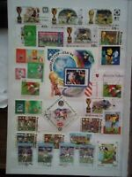 Fussball Football Briefmarken Timbres Sellos Stamps