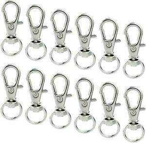 38MM Premium Swivel lobster clasps Key ring Snap Hooks Metal Lobster craft
