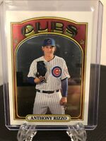 2021 Topps Heritage Anthony Rizzo Chrome #934/999 Chicago Cubs