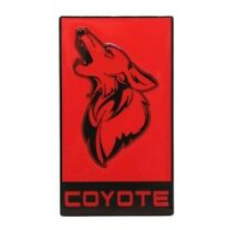2011-2021+ Mustang Coyote Badge - GT350 Style Emblem - All Metal Epoxy Coated!