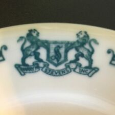 "Lot of 7 Vintage Harry M Stevens Salad/Bread Plate 7"" Restaurant Ware Catering"