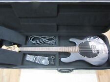 Sterling by Music Man SUB Ray4 Electric Bass Guitar Satin Black Rosewood