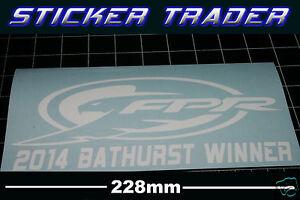 FPR Mostert Sticker V8 Supercars 2014 Bathurst Winner Ford Falcon FPV GT XR8 XR6