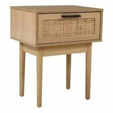 Artiss FURNI-E-RAT-BS-WD Bedside Table - Light Wood Tone
