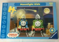 Thomas and Friends Moonlight Ride Ravensburger Puzzle 100 Piece Glow in the Dark