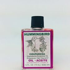 Hummingbird, Chuparosa .5 oz Spiritual Oil Indio Products Wicca Santeria Magick