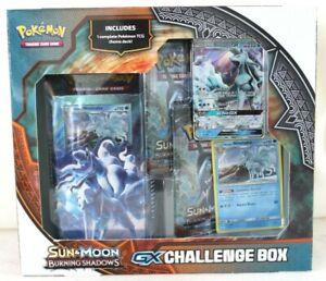 Pokemon Sun & Moon Burning Shadows GX Challenge Box Trading Card Game New Sealed