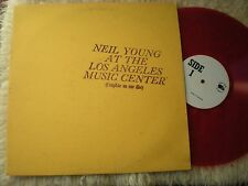 NEIL YOUNG AT THE LOS ANGELES MUSIC CENTER HOLLAND RED VINYL