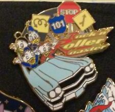 2007 DONALD AND NEPHEWS ROCKIN ROLLER COASTER WDW DISNEY PIN ATTRACTION SERIES