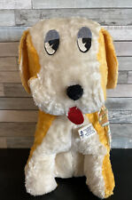 "Vintage Columbia Toy Products Hound Dog Stuffed Animal Plush 14"""