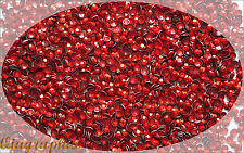 1440 x4 Pcs Iron On Hotfix Sparkling Faceted Rhinestuds RED SS16 4mm AS4B