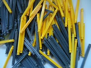 K'nex building toy 450 grey and yellow rods knex parts replacements pieces lot