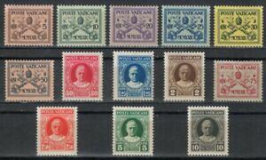 VATICANO 1929 Conciliazione 13v MNH**