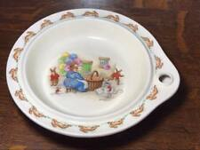 Bunnykins Child's Hot Plate, Signed Barbara Vernon, Royal Doulton