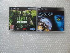 Aliens Vs Predator PS3 Promo + James Cameron's Avatar PS3 Promo Promotional rare