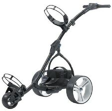 RETURNED MotoCaddy BLACK S1 Digital Electric Powered Golf Cart Lithium Battery