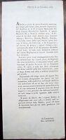 1833 209) PINEROLO CIRCOLARE SU LICENZE TRATTORIE, OSTERIE E GIOCO DEL BIGLIARDO
