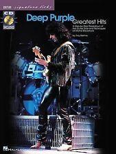 Deep Purple - Greatest Hits (2001) Songbook + CD (Paperback)