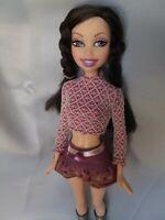 "Mattel Barbie My Scene Doll ""Getting Ready"" Nolee Smiling w/ Teeth Dark Hair"