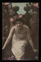 1904 ORANOTYPIE PHOTO BEAUTIFUL SEXY WOMAN POSTCARD - UNUSED ORANOTYPE PC