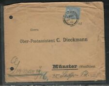 CEYLON (PP3005B) 1902 QV  15C COVER SENT TO MUNSTER, GERMANY