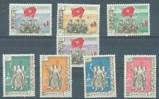 Laos Neutralist Govt (pathet lao) 1961 sg.N1-8 MNH set of 8 ungummed as issued