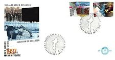E242 First Day Cover Netherlands 1987 Gecombineerde Uitgifte (1368-1369)
