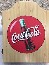coca cola bottle Dart Board Cabinet only