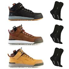 Scruffs SWITCHBACK Safety Work Boots Tan/Brown/Black & 1 Pair of Socks