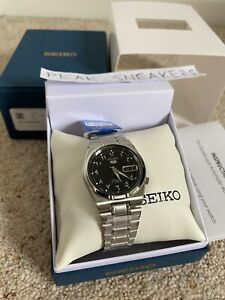 Seiko 5 SNK063J5 Automatic Watch Made in Japan Arabic Dial UK Seller