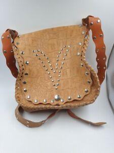 schöne Kunstledertasche aus der DDR , 70 er , Vintage , ca. 20 cm lang