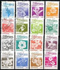 Nicaragua 1983 SG#2441-2456 Flowers Cto Used Set #C103