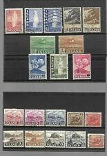 Iceland - Older lot on 2 stockcards
